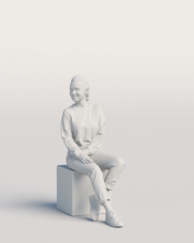 3D Casual people - Woman 08