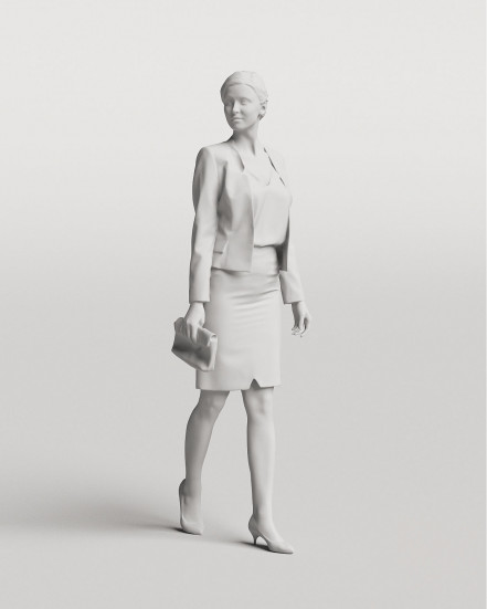 3D Elegant people - Woman 01