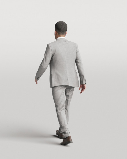 3D Elegant people - Man 01