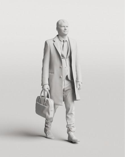 3D Elegant people - Man 02