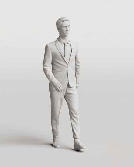 3D Elegant people - Man 03