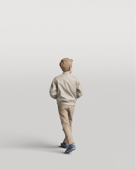 3D Elegant people - Kid 01