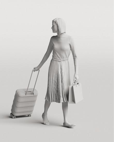 3D Elegant people - Woman 04