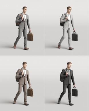 3D Elegant people - Man 05