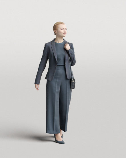 3D Elegant people - Woman 05