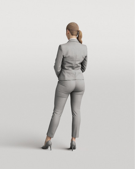 3D Elegant people - Woman 06