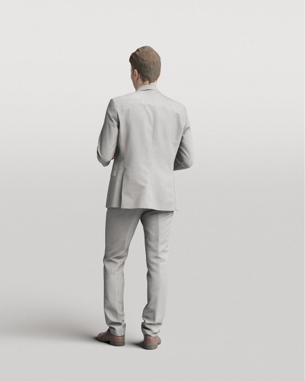 3D Elegant people - Man 06