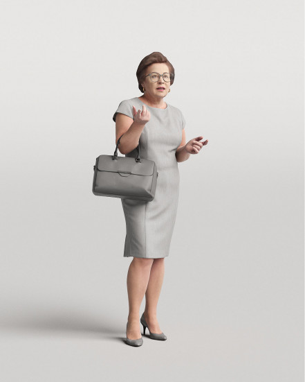 3D Elegant people - Woman 07