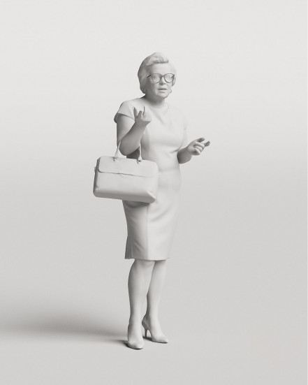 3D Elegant people - Woman 07