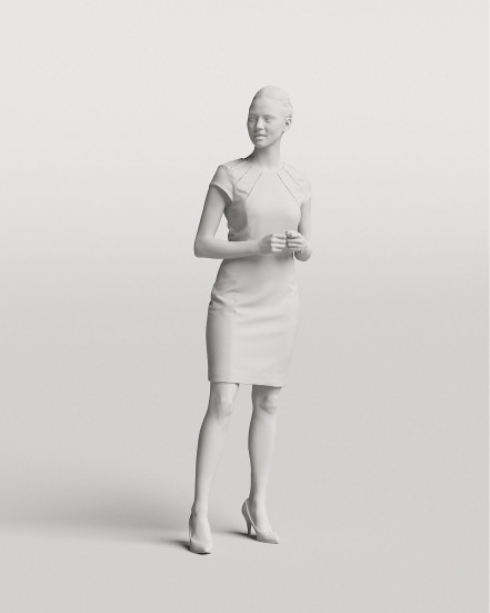 3D Elegant people - Woman 08