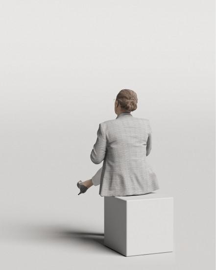 3D Elegant people - Woman 10