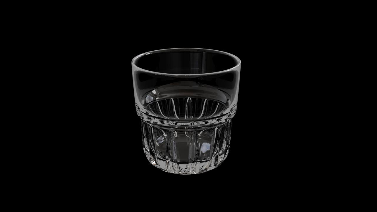 Glass model number 2