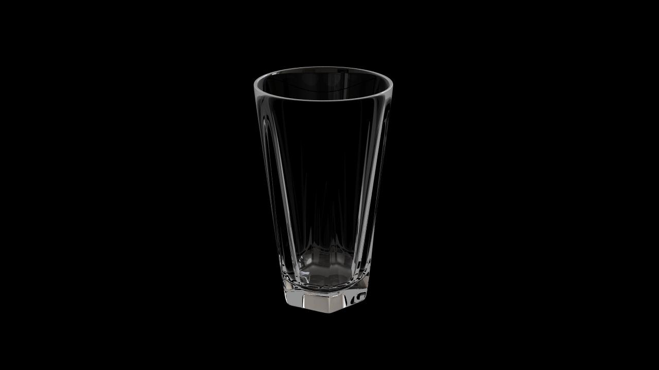 Glass model number 3