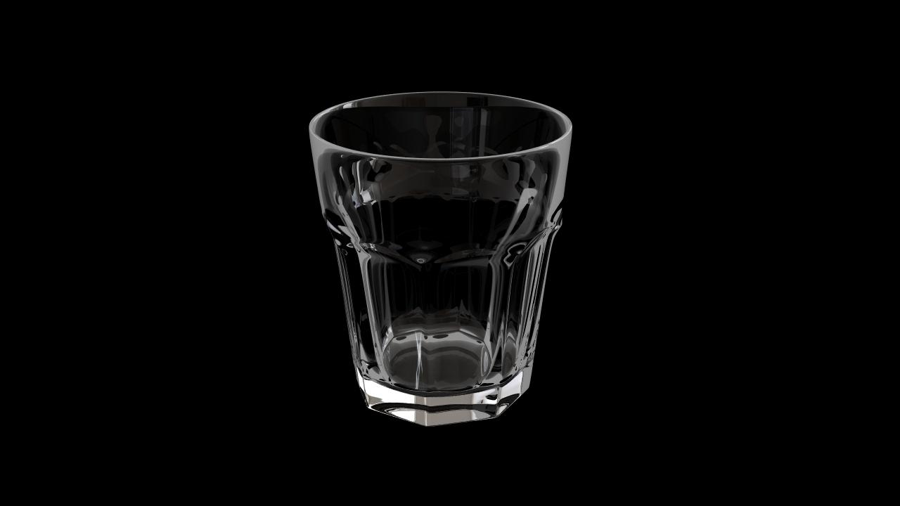 Glass model number 4