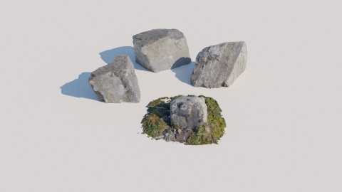 Scanned Rocks 03