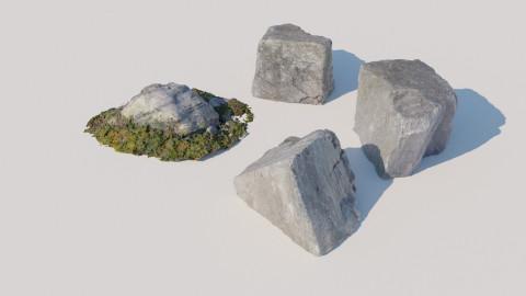 Scanned Rocks 03