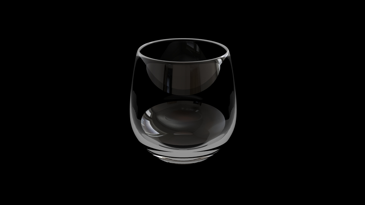 Glass model number 6