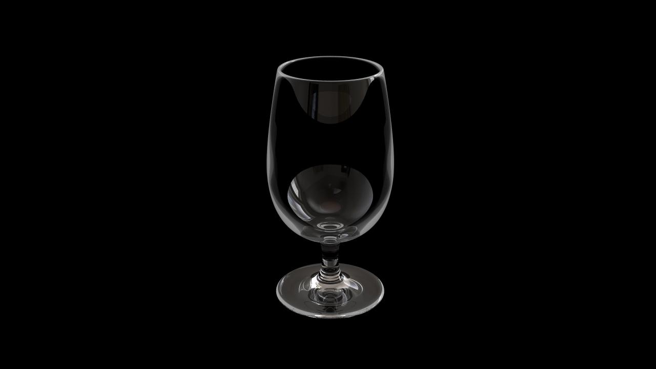 Glass model number 7