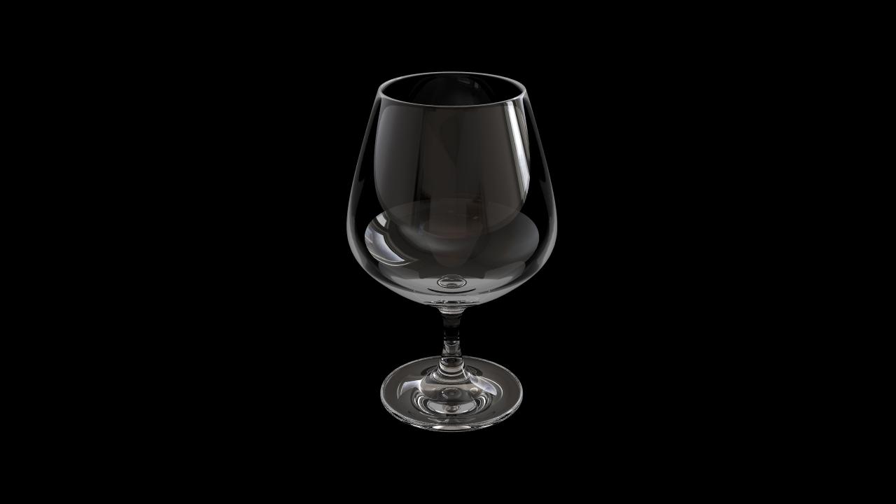 Glass model number 8