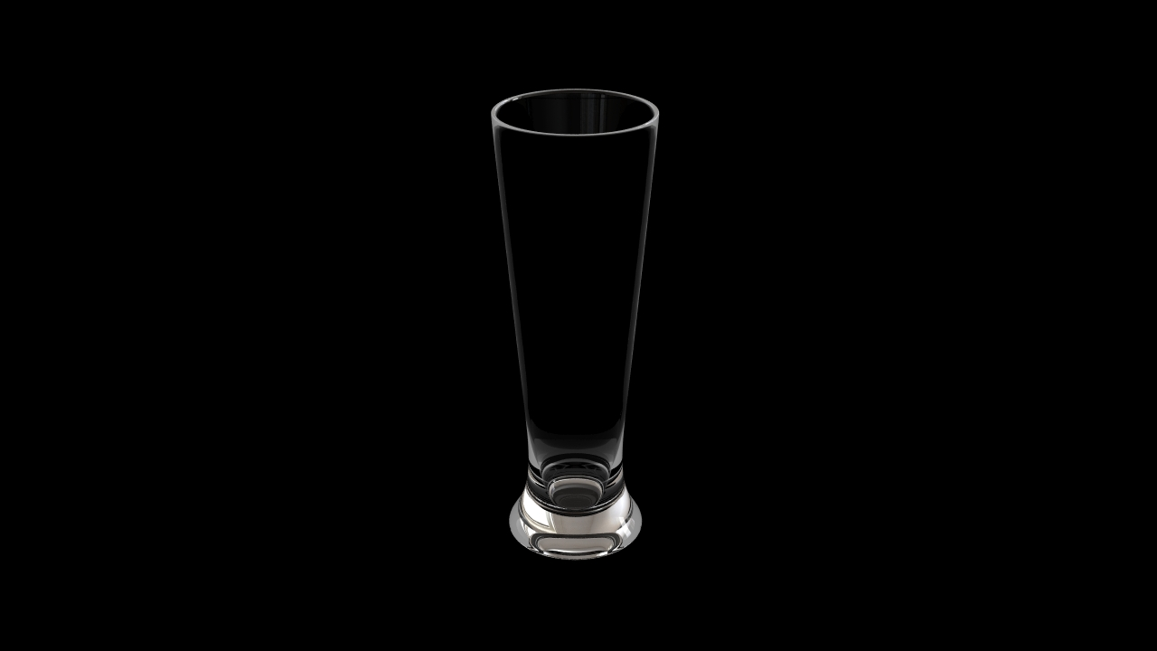 Glass model number 14
