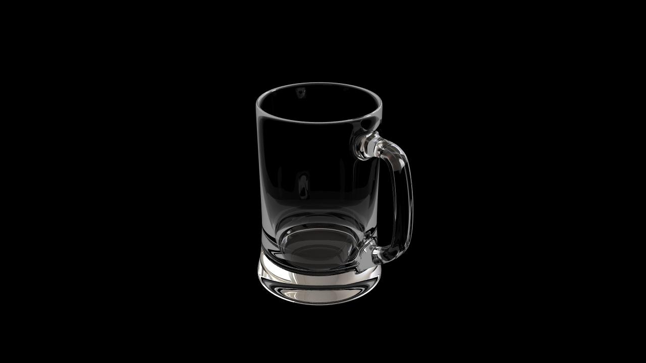 Glass model number 15