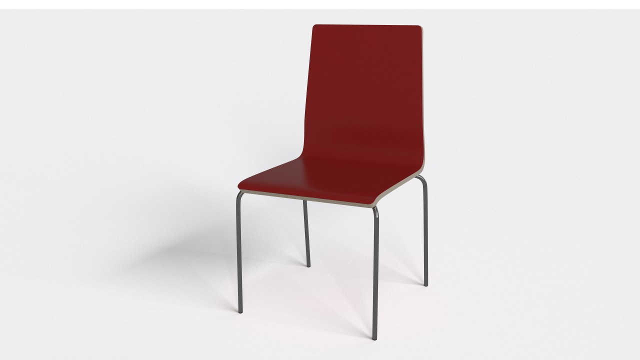 Simple kitchen chair