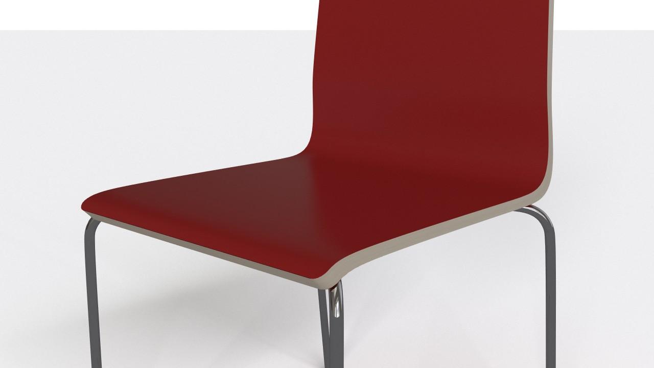 Simple kitchen chair