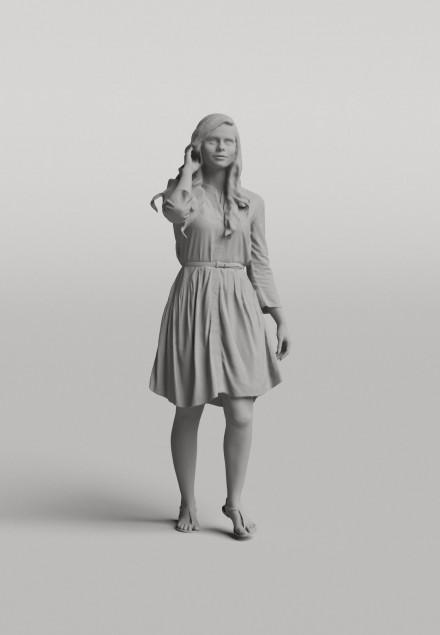 3D Diverse people - Woman 01