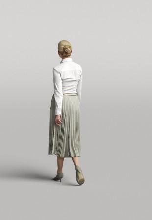3D Diverse people - Woman 02