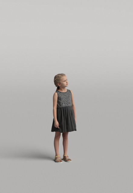 3D Diverse people - Kid 01