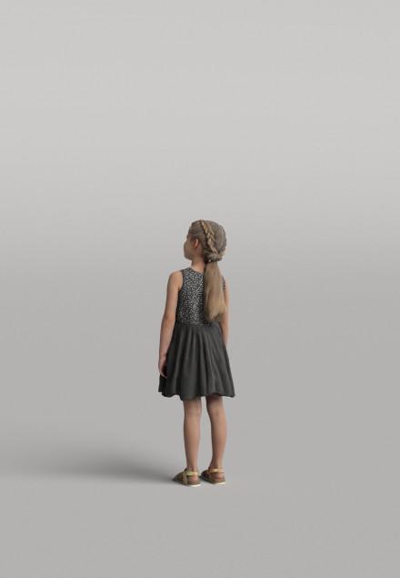 3D Diverse people - Kid 01