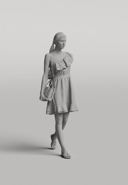 3D Diverse people - Woman 06