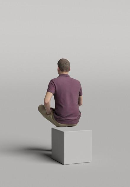 3D Diverse people - Man 06
