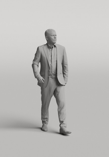3D Diverse people - Man 07
