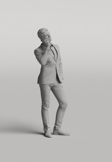 3D Diverse people - Man 09