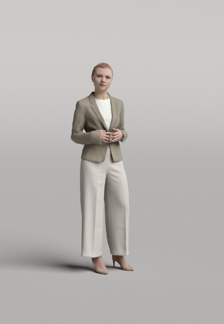 3D Diverse people - Woman 10