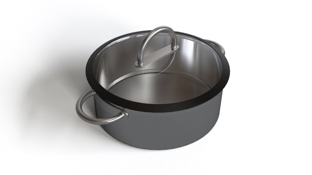 Small kitchen pot