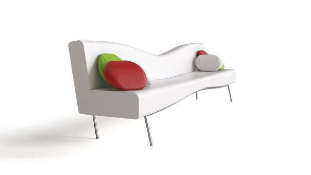 Modern Pinched Sofa
