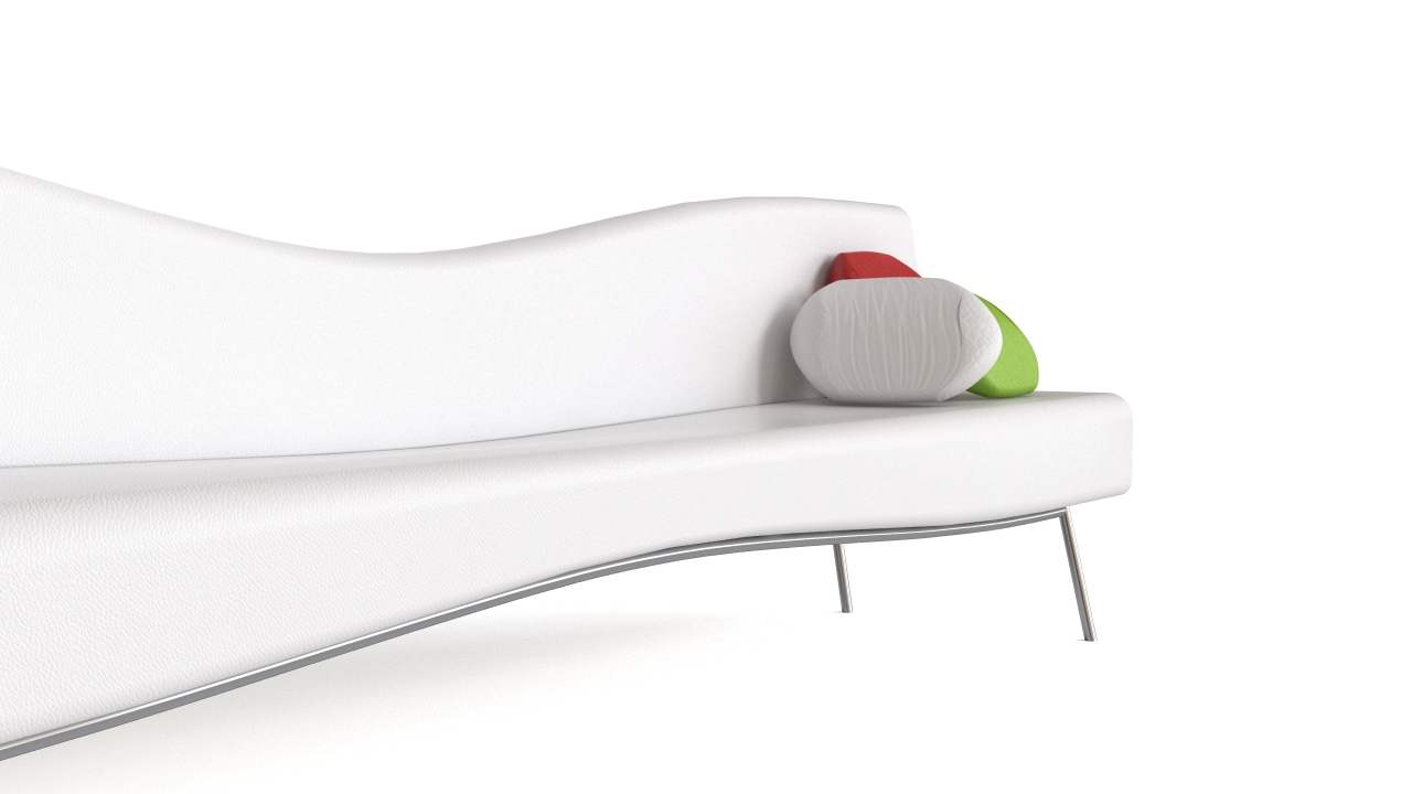 Modern Pinched Sofa