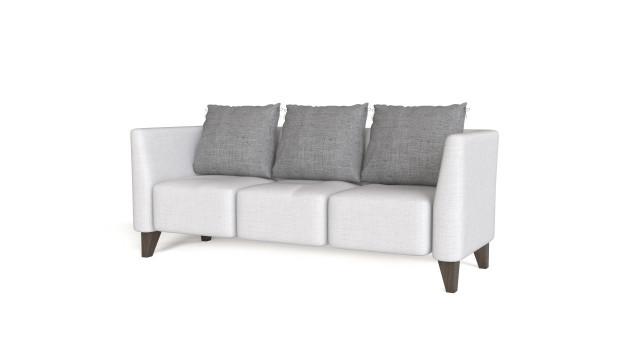 Sofa for three