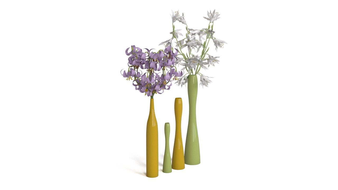 Tall vases by ASA