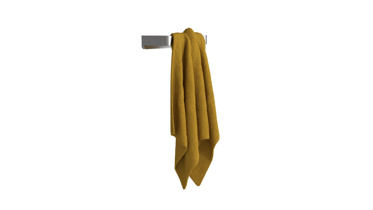 Towel holder + towel