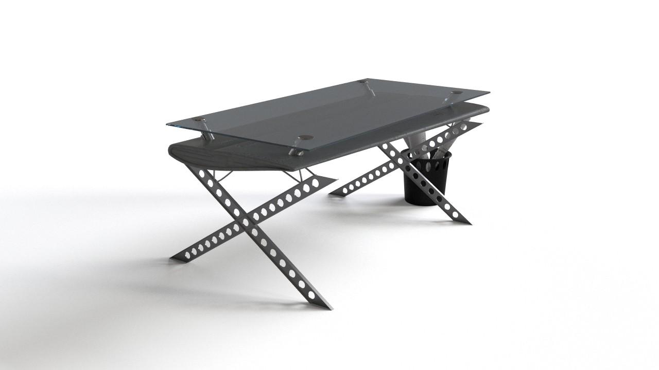 Ultramodern futuristic office table