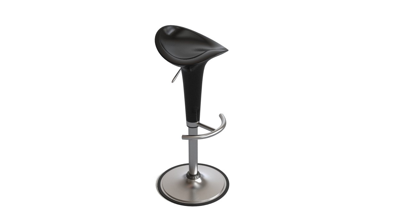 Miraculous Venice Black Gas Lift Bar Stool Flyingarchitecture Creativecarmelina Interior Chair Design Creativecarmelinacom