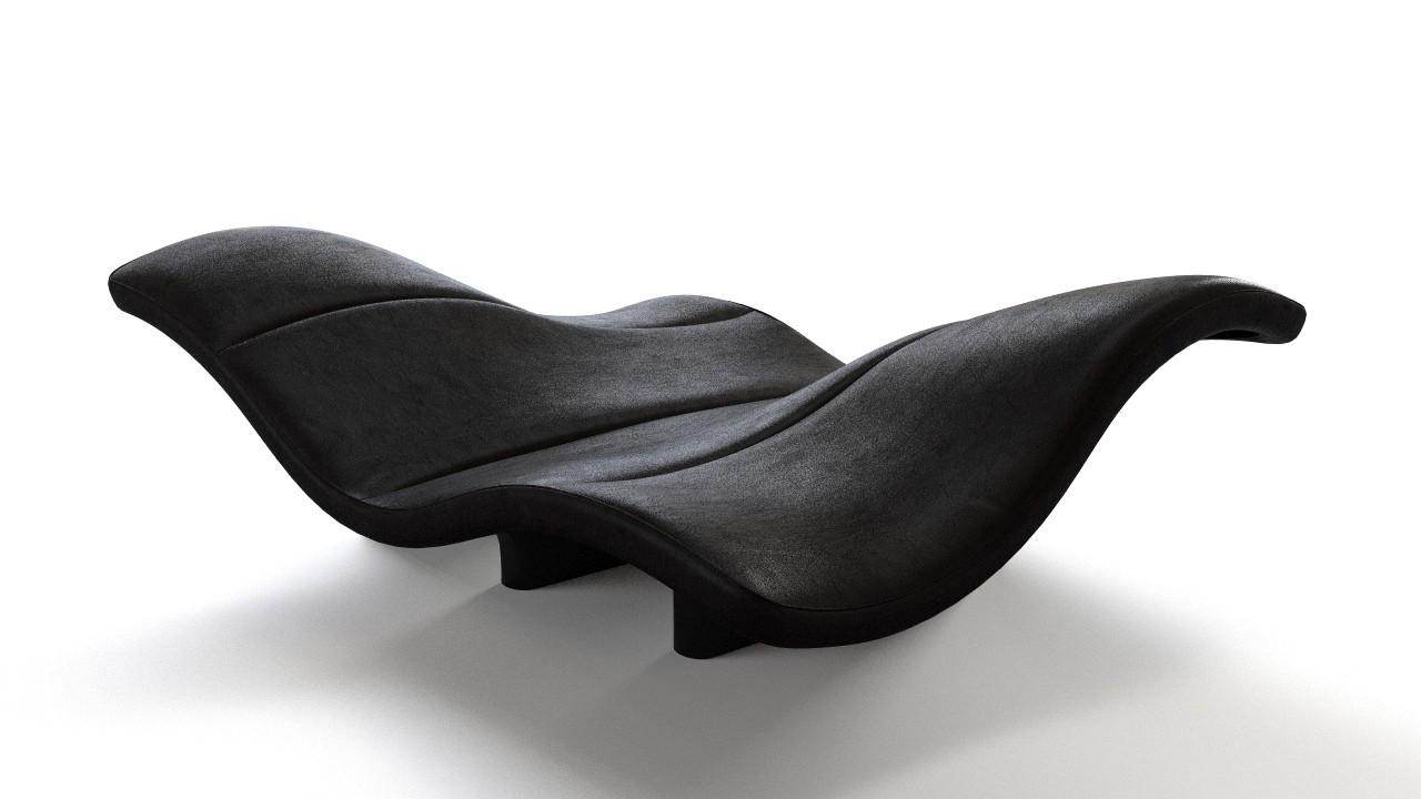 Wave organic sofa