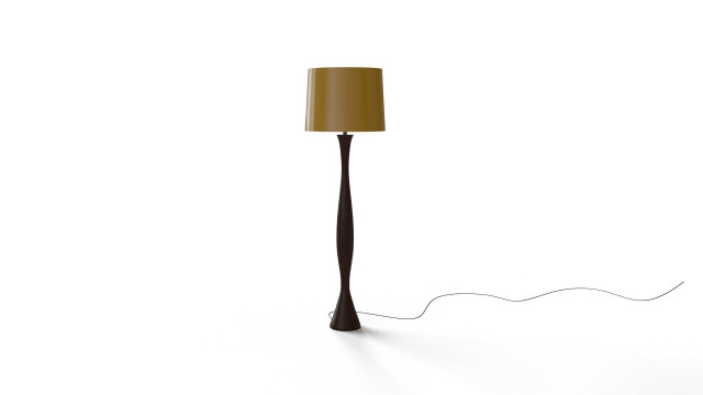 Woodstand lamp