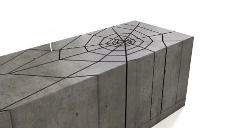 Outdoor bench - concrete