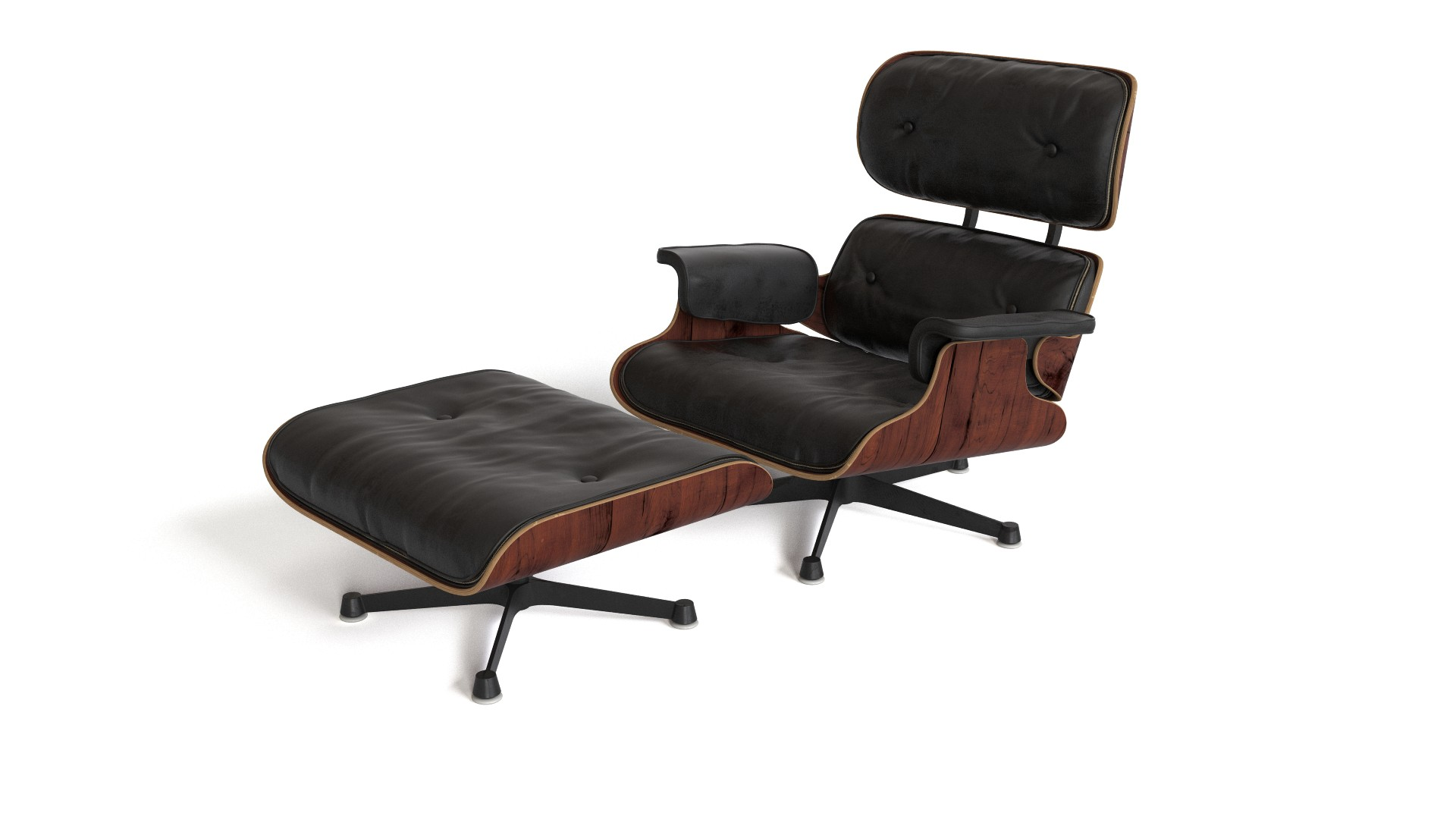 eames lounge chair with ottoman flyingarchitecture. Black Bedroom Furniture Sets. Home Design Ideas