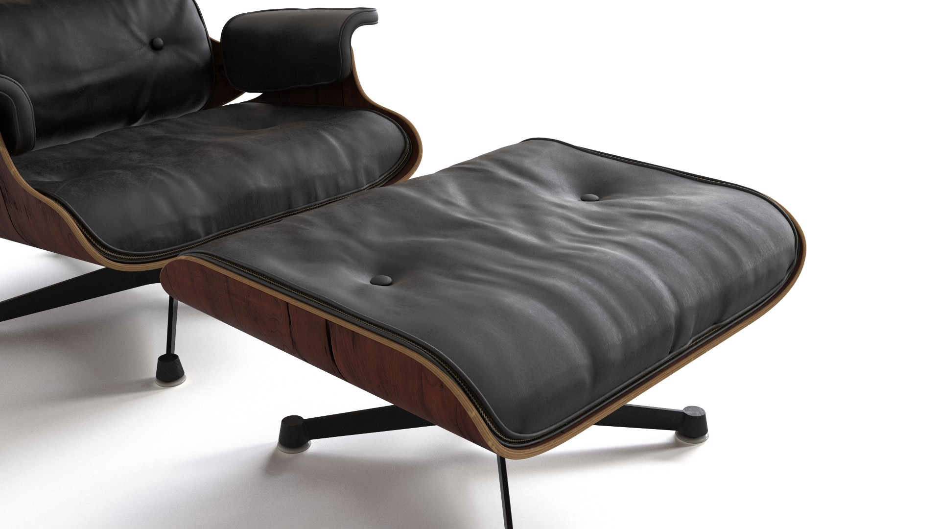 Tremendous Eames Lounge Chair With Ottoman Flyingarchitecture Beatyapartments Chair Design Images Beatyapartmentscom