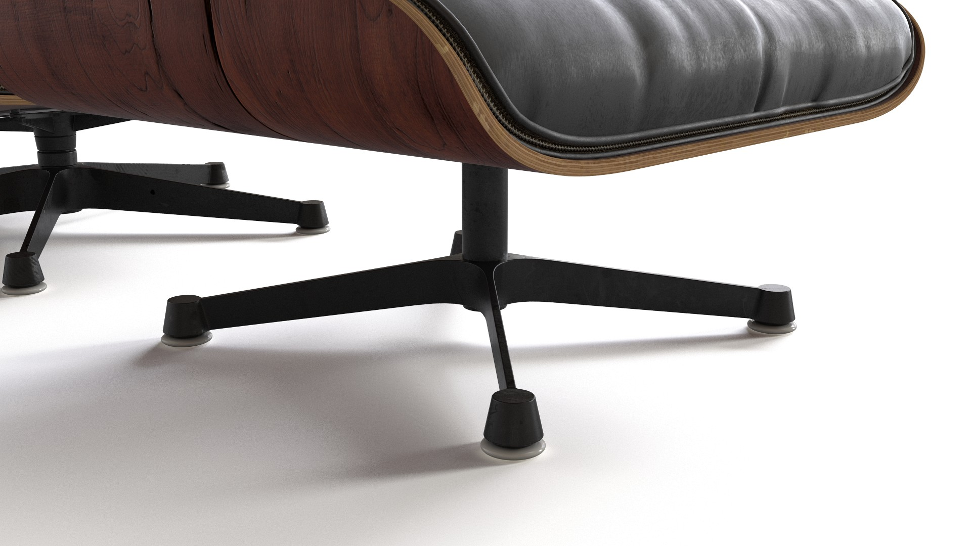 eames lounge chair with ottoman - Eames Lounge Chair And Ottoman